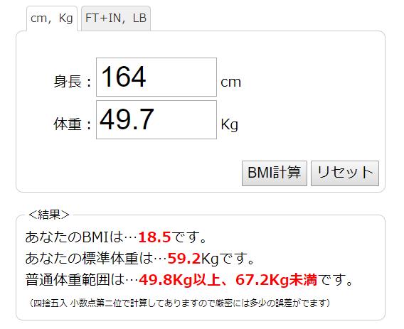 菊地亜美 ダイエット BMI